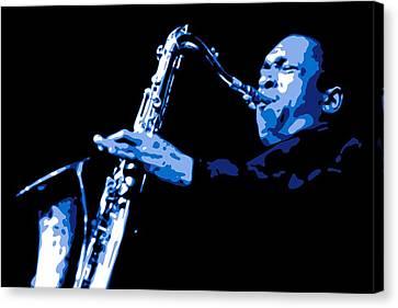 John Coltrane Canvas Print by DB Artist