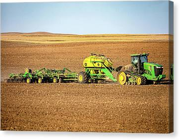 John Deere 9560 Rt Canvas Print
