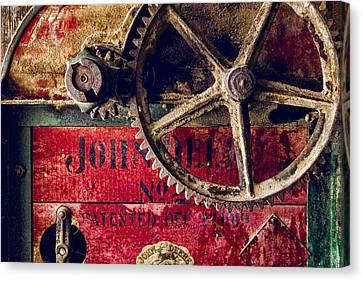 Machinery Canvas Print - John Deere by Humboldt Street