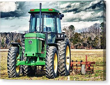 John Deere Canvas Print by Kelly Reber
