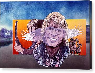 John Denver Canvas Print