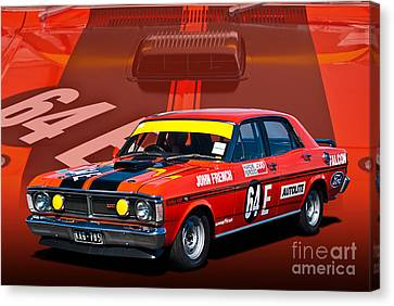 John French Xy Falcon 351 Gtho Canvas Print