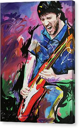 John Frusciante Canvas Print by Richard Day