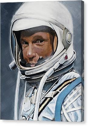 John Glenn Canvas Print by Simon Kregar