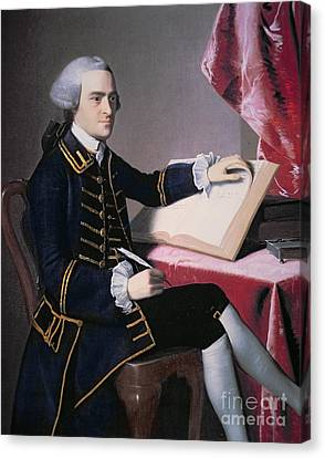 Founding Fathers Canvas Print - John Hancock by John Singleton Copley