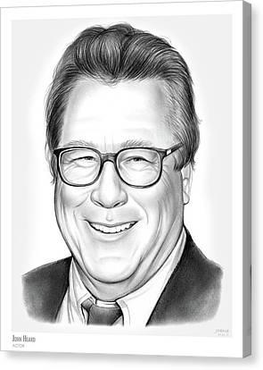 Sopranos Canvas Print - John Heard by Greg Joens