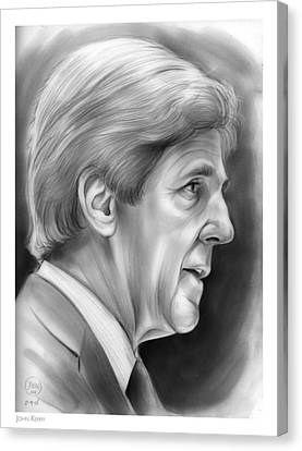 John Kerry Canvas Print