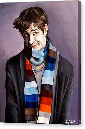 John Krasinski Canvas Print by Emily Jones