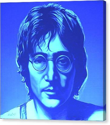 John Lennon Canvas Print by Agris Rautins