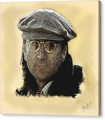 John Lennon Canvas Print by Debora Cardaci