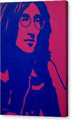 John Lennon Canvas Print by John  Nolan