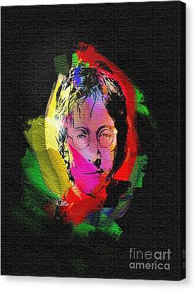 John Lennon Canvas Print by Mo T