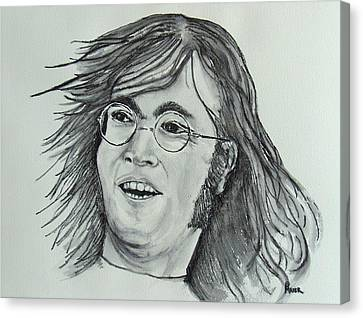 John Lennon Canvas Print by Pete Maier