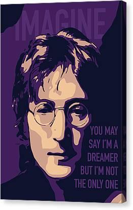 John Lennon Canvas Print
