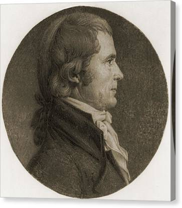 John Marshall 1755-1835, Fourth Chief Canvas Print by Everett