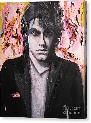 John Mayer Canvas Print by Eric Dee