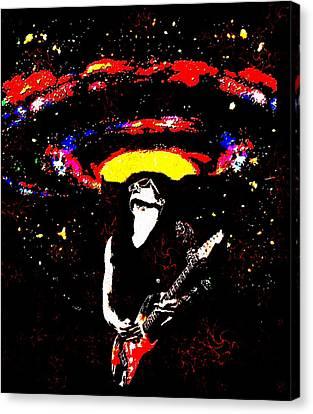John Mayer's Gravity Canvas Print by CD Kirven