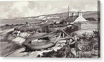 John O'groats Canvas Print