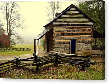 John Olivers Cabin Canvas Print
