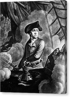 Eht10 Canvas Print - John Paul Jones 1747-1792, American by Everett