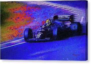 Canvas Print featuring the mixed media John Player Special by Marvin Spates