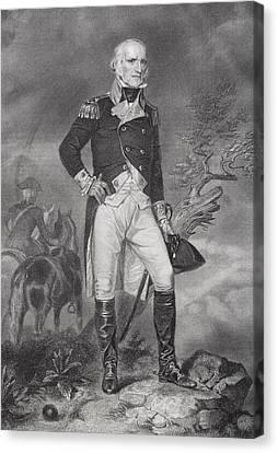John Stark 1728-1822. American General Canvas Print
