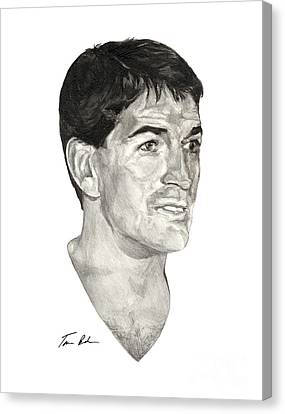 John Stockton Canvas Print by Tamir Barkan