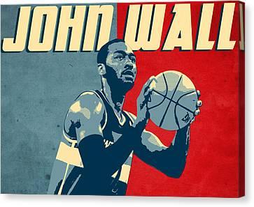 John Wall Canvas Print by Semih Yurdabak