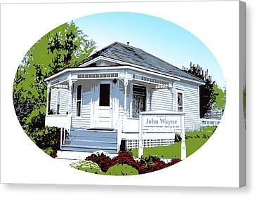 John Wayne Home Canvas Print by Greg Joens