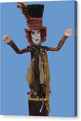 Johnny In The Box Canvas Print by Cathi Doherty