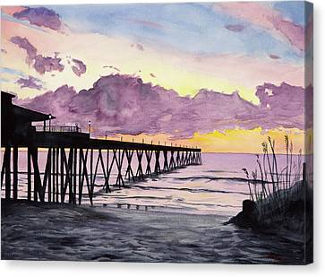Johnny Mercers Sunrise Canvas Print by Christopher Reid