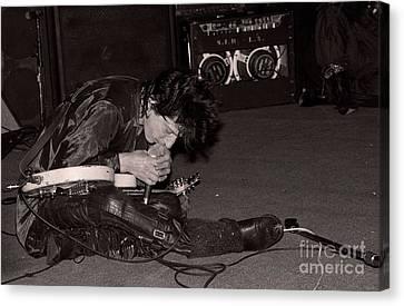 Heartbreaker Canvas Print - Johnny Thunders by David Plastik