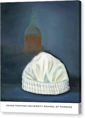 Johns Hopkins University School Of Nursing Canvas Print