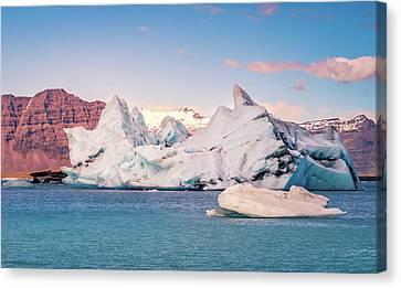 Jokulsarlon Glacial Lagoon Canvas Print