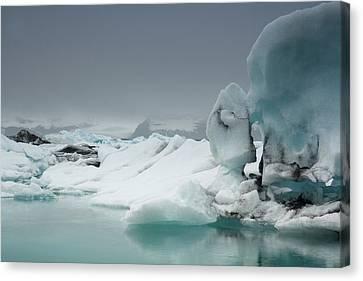 Jokulsarlon Glacier Lagoon Canvas Print