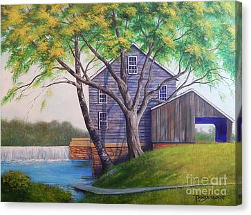 Canvas Print - Jolly Mill by Tanja Ware