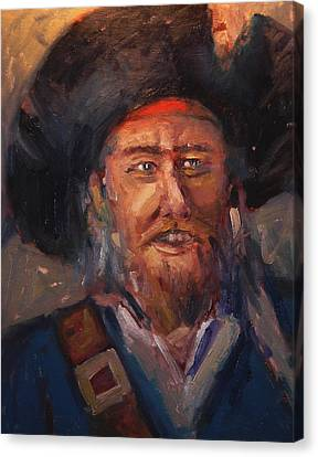 Jolly Roger Canvas Print by R W Goetting