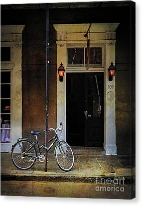 Jolt 709 Bicycle Canvas Print by Craig J Satterlee
