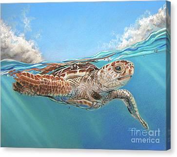 Jonah Canvas Print by Deb LaFogg-Docherty