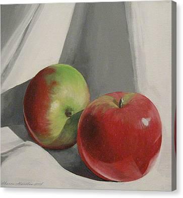 Jonah Macs Canvas Print by Sharon Marcella Marston
