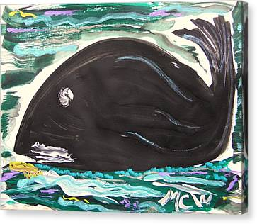 Jonahs Friend Canvas Print by Mary Carol Williams