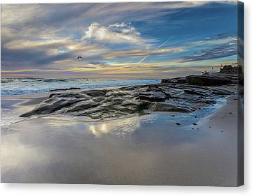 Surf Lifestyle Canvas Print - Jonathan Livingston by Peter Tellone