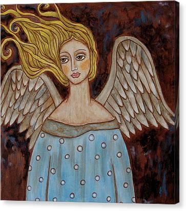 Jophiel Canvas Print by Rain Ririn