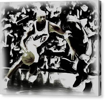Jordan And Kobe 2b Canvas Print
