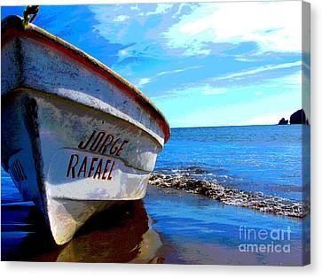 Jorge Rafael By Michael Fitzpatrick Canvas Print by Mexicolors Art Photography