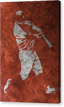 Jose Altuve Houston Astros Art Canvas Print by Joe Hamilton
