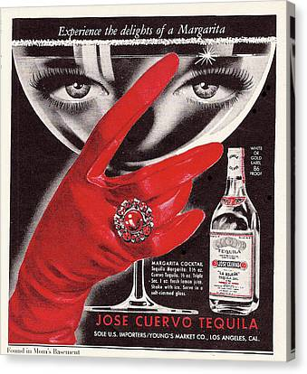 Jose Cuervo Tequila Experience The Delights Of A Margarita Canvas Print