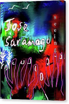 jose saramago  Seeing  Canvas Print