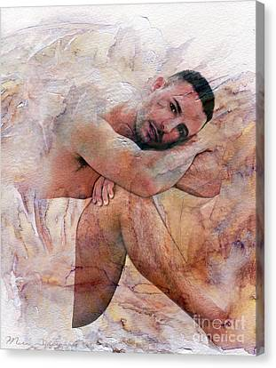 Human Beings Canvas Print - Joseph by Mark Ashkenazi