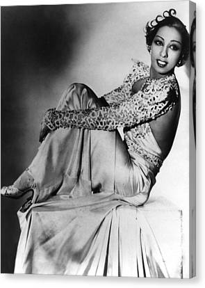 Josephine Baker Canvas Print by American School